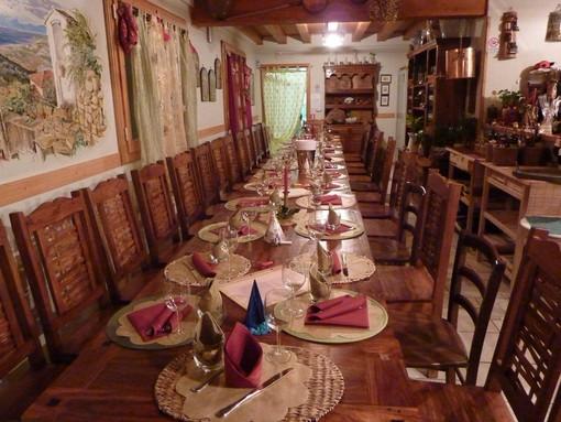 Al Ristorante Antichi Sapori di Terzorio per Natale e Capodanno due menu per grandi e piccini