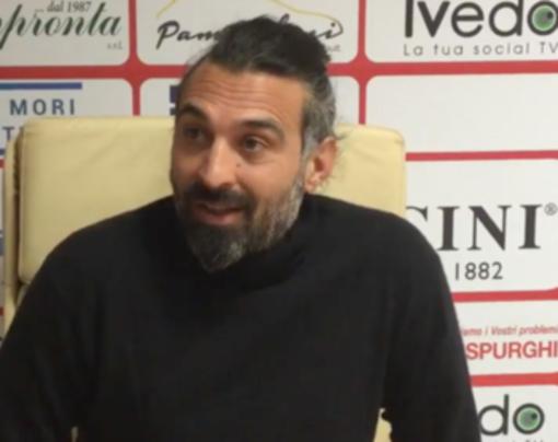 Alessio Bifini, attuale tecnico del Tarquinia