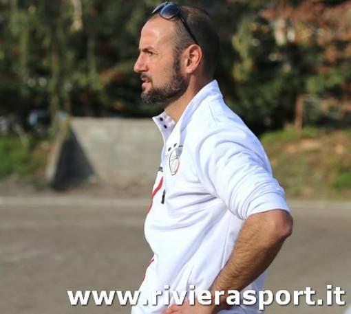 Arturo Notari, allenatore della Sanremese Juniores