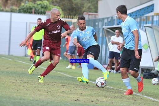 """Calcio, Coppa Italia Promozione. Ventimiglia, è un Musumarra show: """"Espresso un buon gioco contro una squadra importante come la Dianese&Golfo"""""""