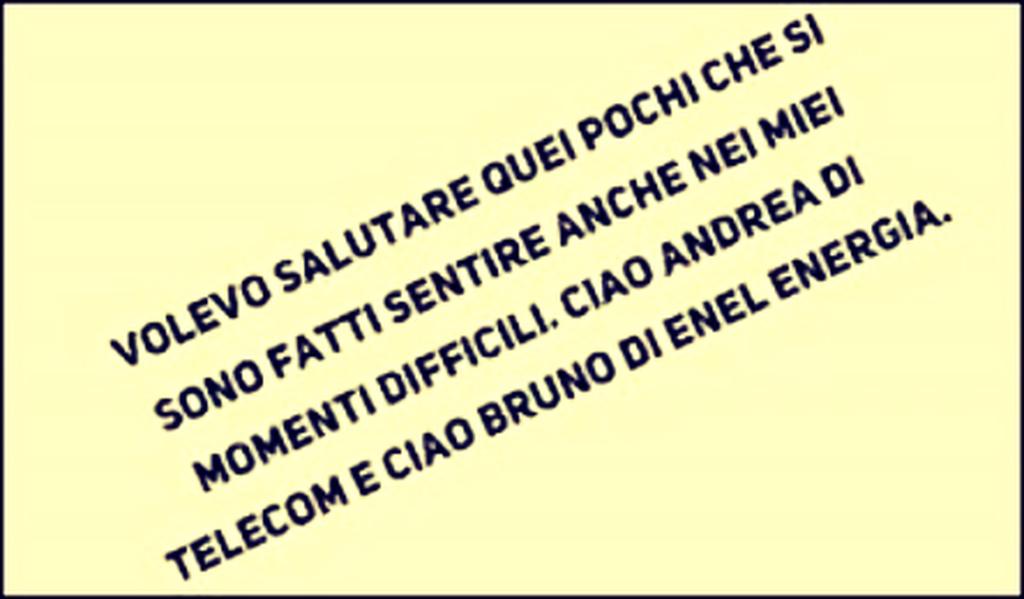 Lalmanacco Di Sanremo News Se La Gente Parla E Straparla Tu Che