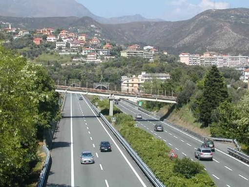 I cantieri sull'Autostrada dei Fiori tra Savona ed il Confine di Stato durante la prossima settimana