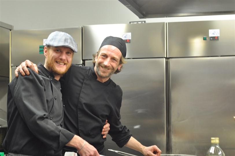 Federico Lanteri, chef del ristorante il Torrione, con un menù speciale conquista la Valle d'Aosta.