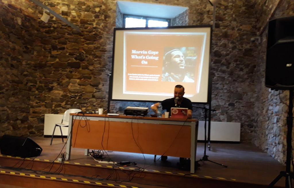Sanremo: ieri per '68 e dintorni' un incontro con Radiomandrake su 'Talking About Revolution'