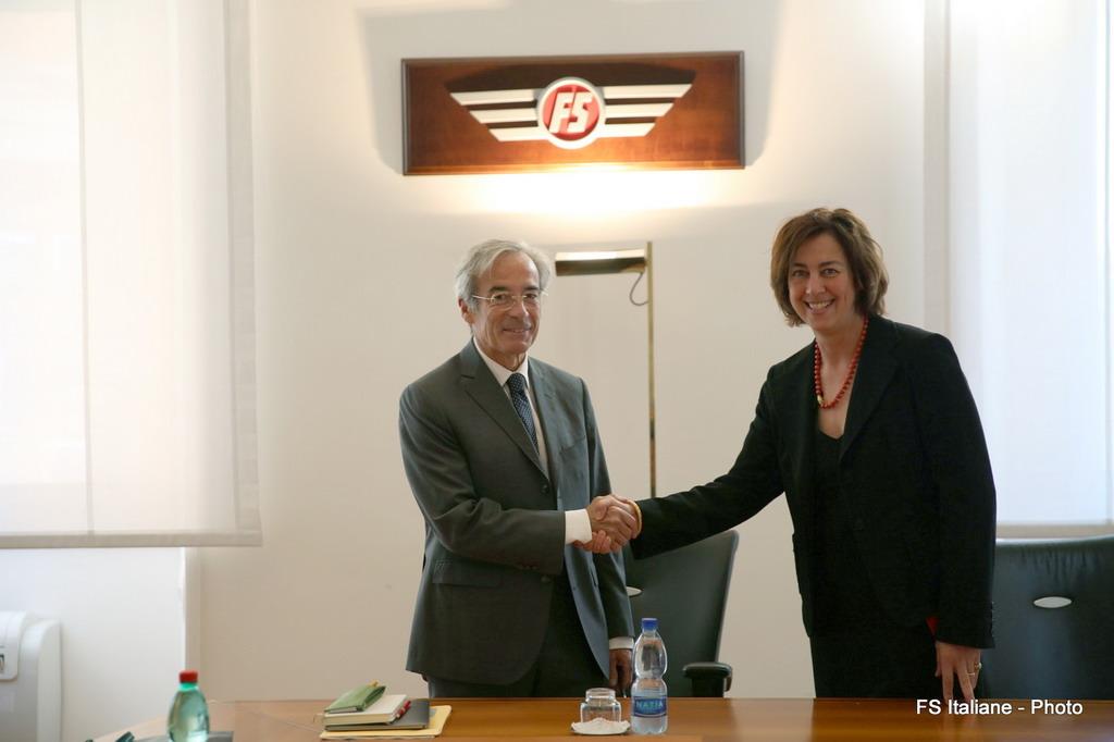 Fs italiane: la presidente Gioia Ghezzi incontra Frédéric Saint-Geours, presidente delle ferrovie francesi
