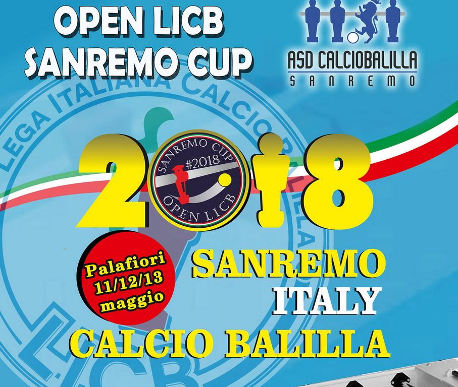 Sanremo: tutto pronto per la seconda edizione del torneo nazionale  di calciobalilla 'Sanremo Cup 2'