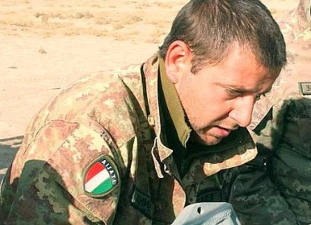 La morte di Luca Sanna in Afghanistan  cordoglio dagli Alpini di Sanremo 77b7e58eb60c