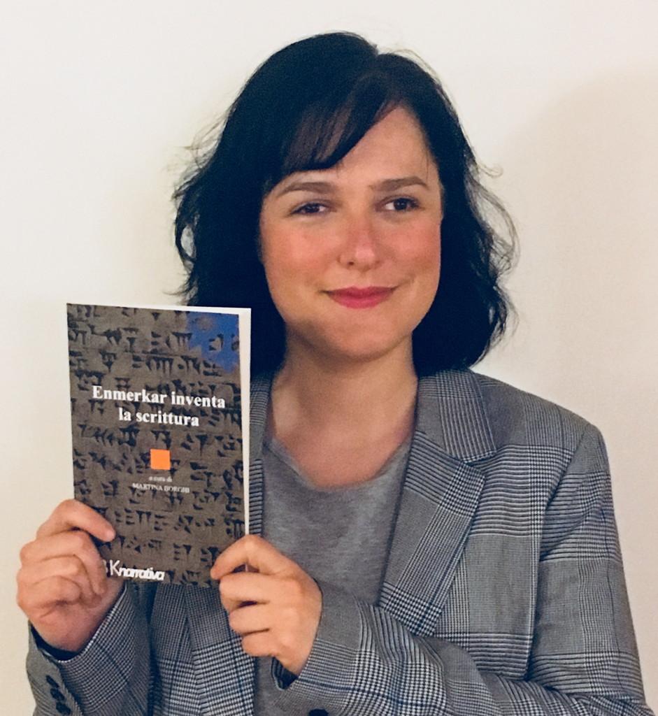 Il libro della sanremese Martina Borghi 'Enmerkar inventa la scrittura' al Salone del libro di Torino