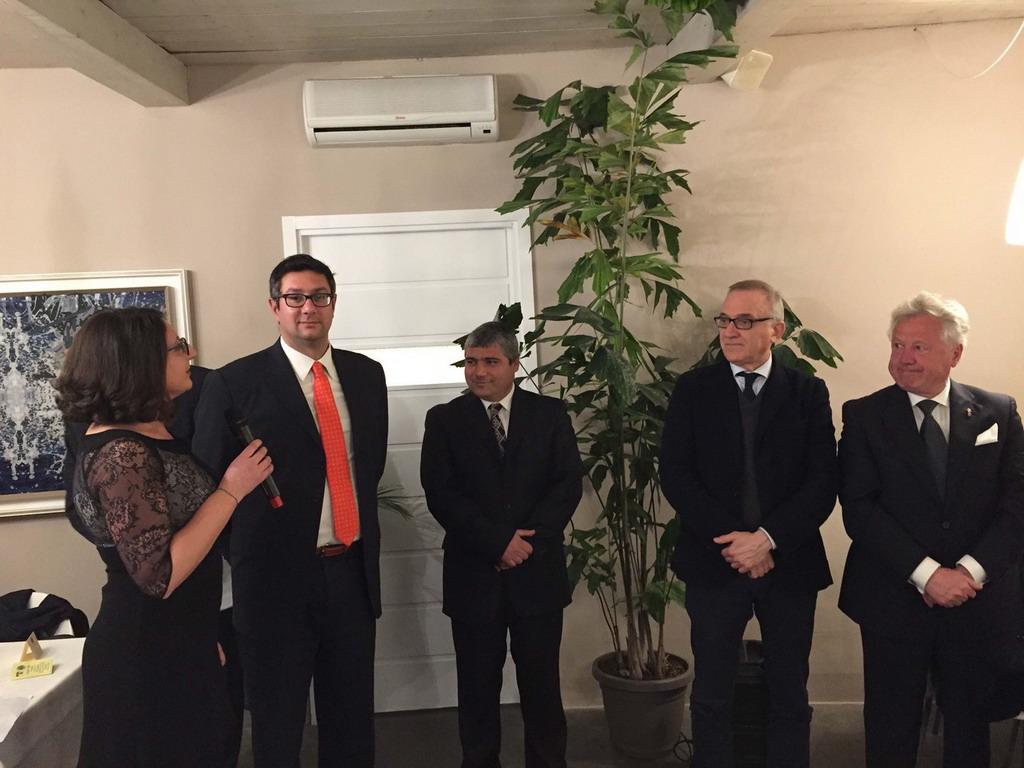 Ventimiglia: tre nuovi soci per il Lions Club presieduto da Mirella Nigro, le foto della cerimonia