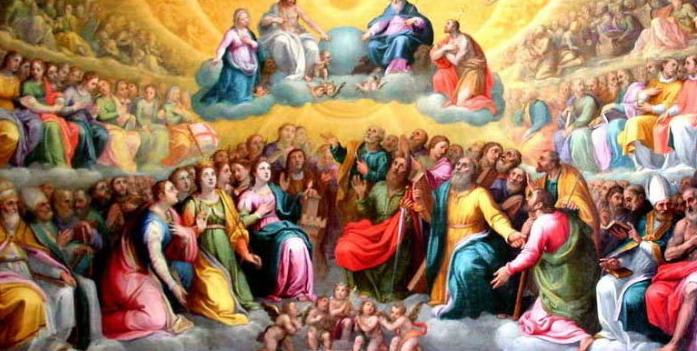Calendario Gregoriano Santi.Oggi E La Festa Di Ognissanti 305 Giorno Del Calendario