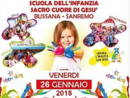 Sanremo venerd open day alla scuola dell 39 infanzia sacro for Siti maestre scuola infanzia