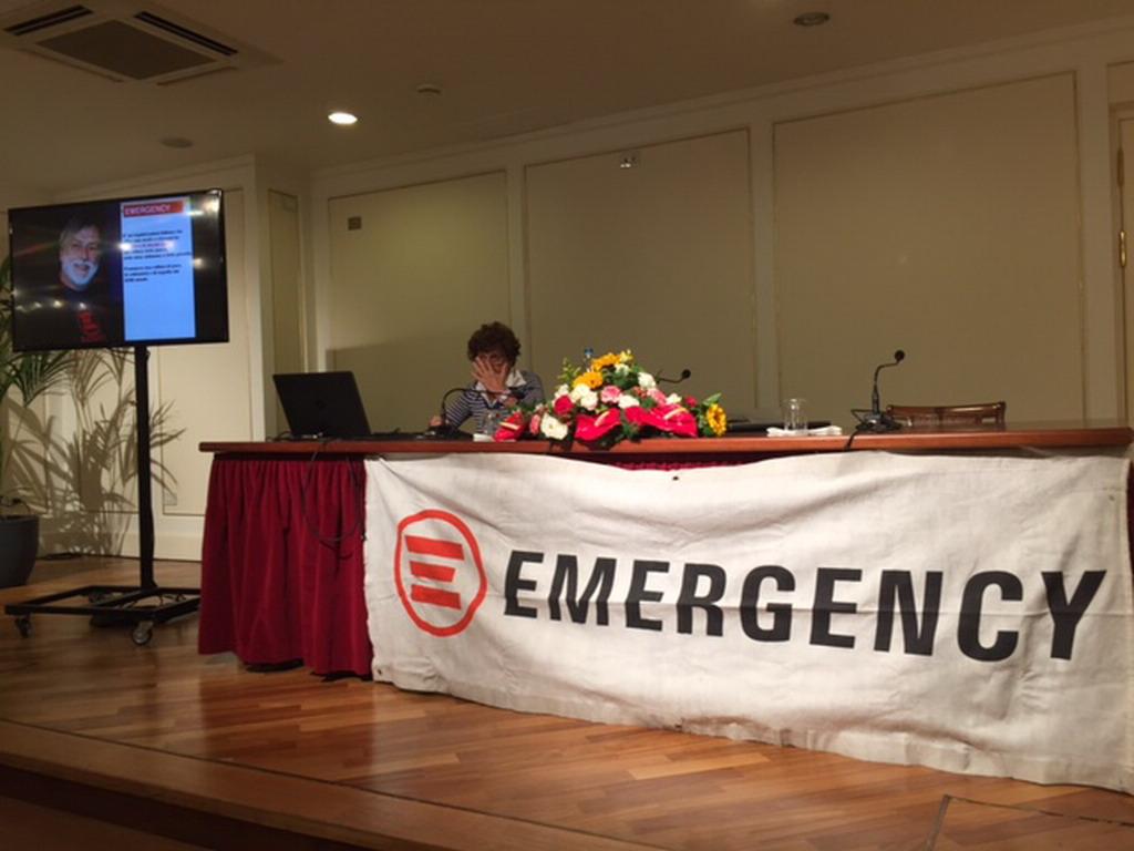 Sanremo: grande partecipazione ieri sera al Casinò per la serata organizzata da Emergency