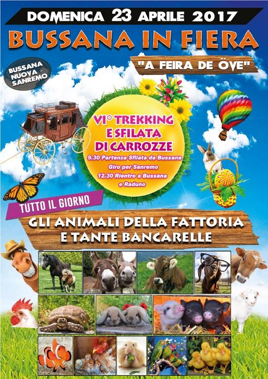Sanremo: domenica prossima, ritorna la fiera di Bussana Nuova, 'a Feira de öve'