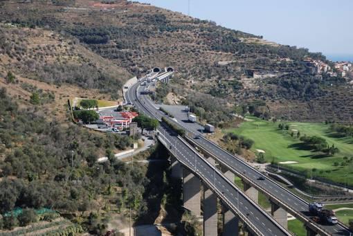 Tutti i cantieri attivi sull'Autostrada tra Savona ed il Confine di Stato tra il 10 ed il 16 dicembre