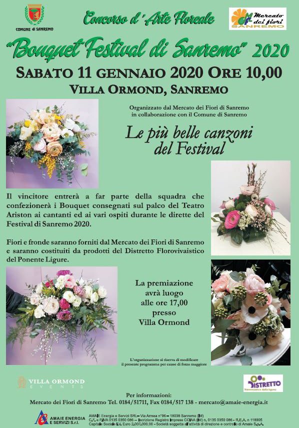 Parte Dei Fiori.Sabato Prossimo Concorso D Arte Floreale Bouquet Festival Di