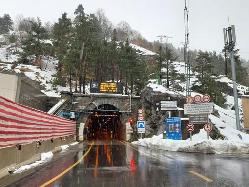 Lunedì ispezione periodica del tunnel di Tenta: chiusura prevista per la mattinata