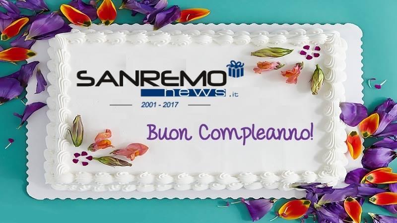 16 Anni Insieme Buon Compleanno Sanremonews It Grazie A Tutti I