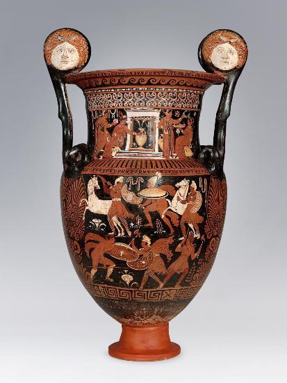 Tre commercianti d 39 arte della nostra provincia indagati for Vaso greco antico