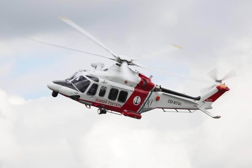 Elicottero Aw139 : Dal al dicembre la guardia costiera salone della