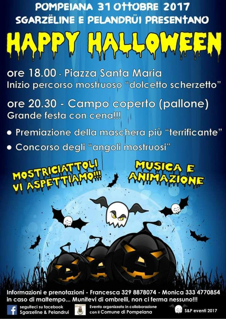 Pompeiana: martedì torna la grande festa di Halloween, appuntamento per ...