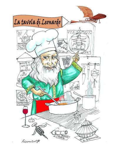 """""""A tavola con Leonardo"""" nell'atmosfera fantastica del giardino di Villa Ormond"""