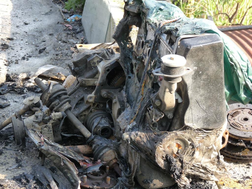 Molini di Triora: auto bruciata ritrovata senza targhe e ...