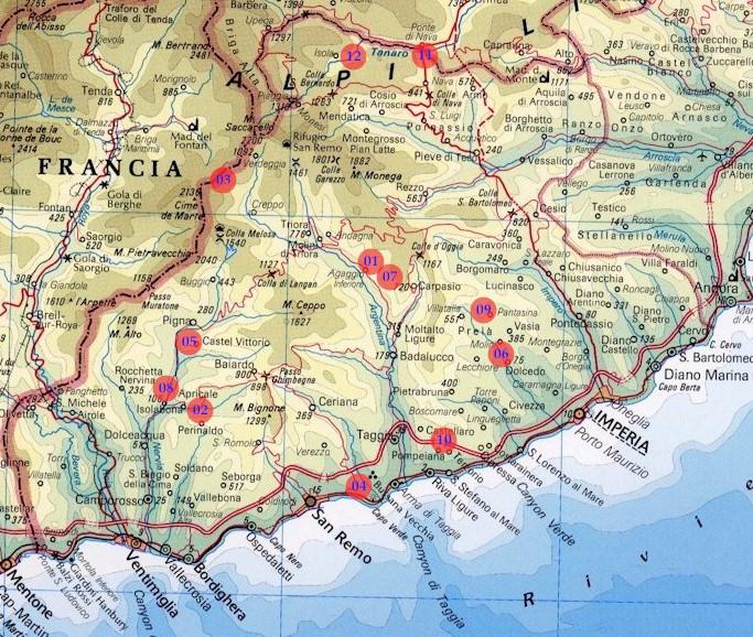 Province Liguria Cartina.Provincia Lunga E Stretta Ecco La Poesia Dell Accorpamento Tra Imperia E Savona Sanremonews It