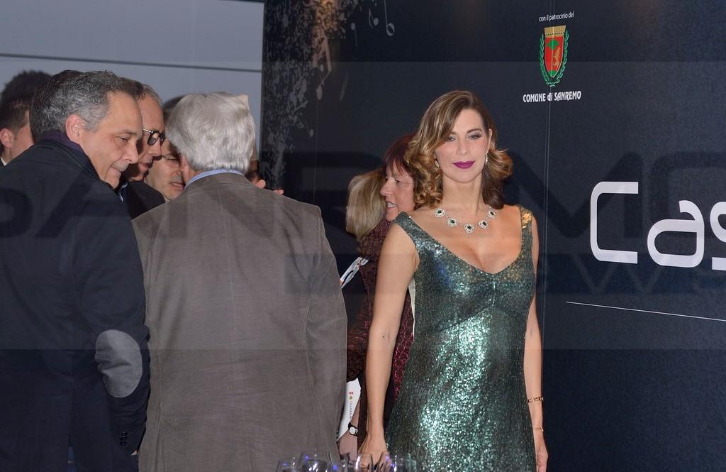 Sanremo 2016 il maestro orafo michele affidato inaugura for Salotto la veronica