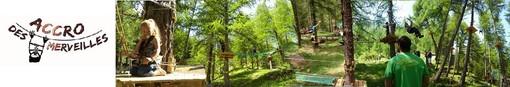 Apre il 30 maggio il Parco Accro Des Merveilles a Casterino tra passerelle, funi e carrucole
