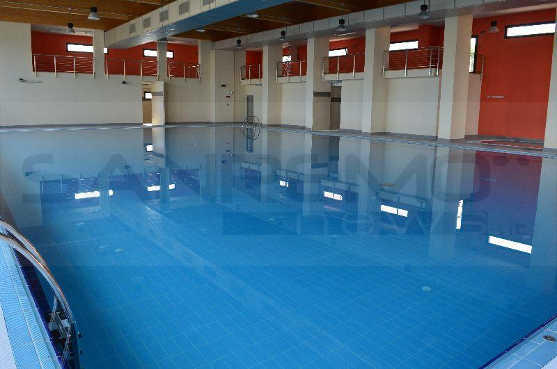 Taggia terminata la fase di precollaudo della piscina al for Piani del padiglione della piscina