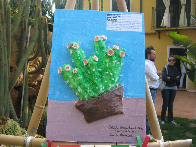 Bordighera la premiazione del concorso scolastico al for Crea il tuo giardino
