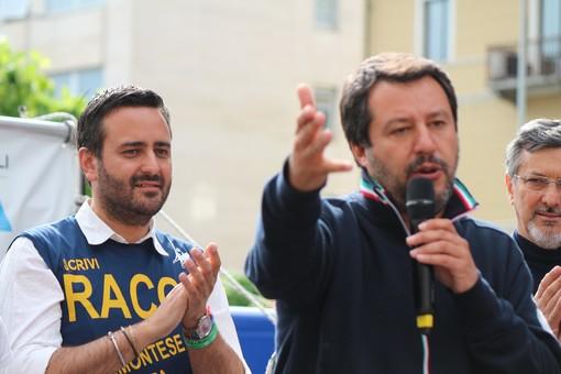 """Racca (Lega): """"L'Italia è un paese di serie A, e con il vostro aiuto porterò questo messaggio in Europa"""" (VIDEO)"""