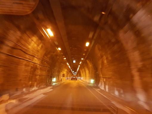 Lavori nel tunnel di Tenda: la prossima settimana programmate chiusure notturne e diurne