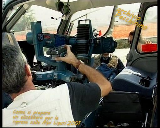 """I video di Roberto Pecchinino: come si allestisce un elicottero per fare riprese aeree e il documentario """"Flamalgal"""""""