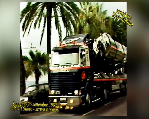 I video di Roberto Pecchinino: GP OffShore Città di Sanremo del 1987
