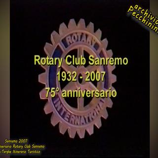 I  video di Roberto Pecchinino: Alla scoperta con il Rotary Club Sanremo, delle strutture storiche della città, con installazione di targhe in ottone, in occasione del 75° anniversario di fondazione (1932-2007)