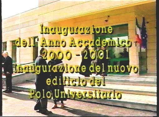 I video di Roberto Pecchinino: l'inaugurazione nel 2001 del nuovo Polo Universitario di Imperia