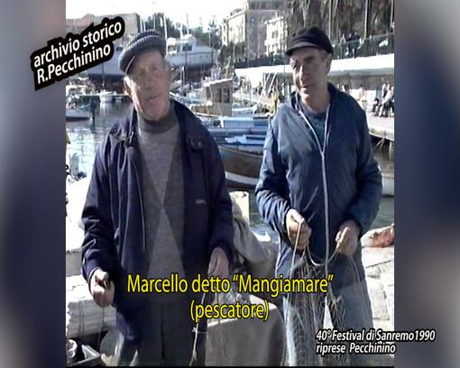 Le interviste al fiorista Sandro Alberti, al taxista Franco Barlaan e a Erio Tripodi, realizzate al 40° Festival della Canzone del 1990