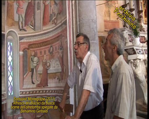 I video di Roberto Pecchinino: l'affresco dei Biazaci scena oltretomba spiegata da Beniamino Giribaldi