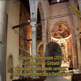 I video di Roberto Pecchinino: la storia della Vergine e la vita di San Giacomo, raccontate da Beniamino Giribaldi