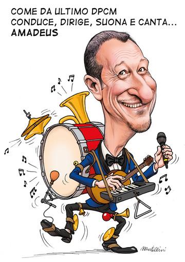 La vignetta di Martellini Marco vincitrice della seconda edizione del Sanremo  Comics Festival