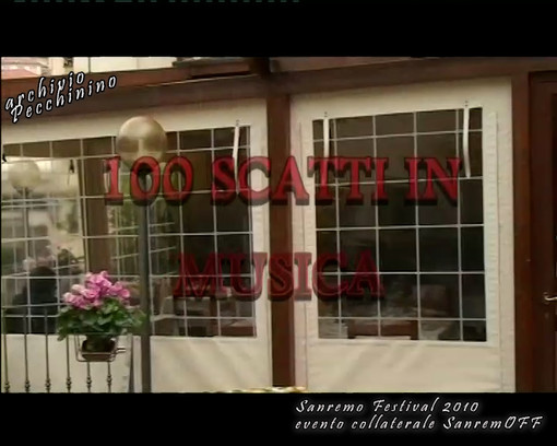 100 scatti in musica: il grande evento in occasione del Festival di Sanremo 2010 sotto la direzione artistica di Pepi Morgia