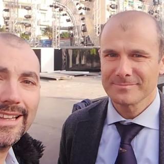 '2 ciapetti con Federico' va on the road con l'Assessore Sindoni per scoprire il palco di piazza Colombo (Video)