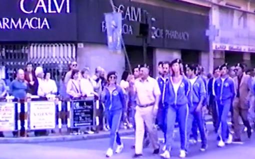 Sanremo 2 giugno 1986: la cerimonia per la festa della Repubblica