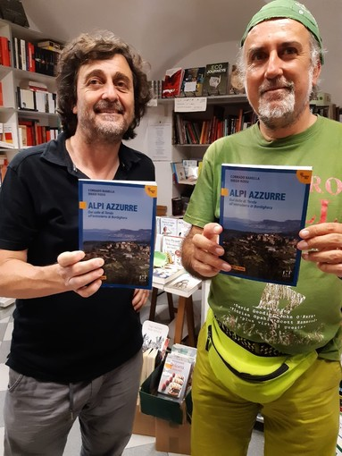 Sanremo: sabato prossimi in piazzetta dei Ferri, presentazione del libro 'Alpi Azzurre. Dal colle di Tenda all'entroterra di Bordighera'