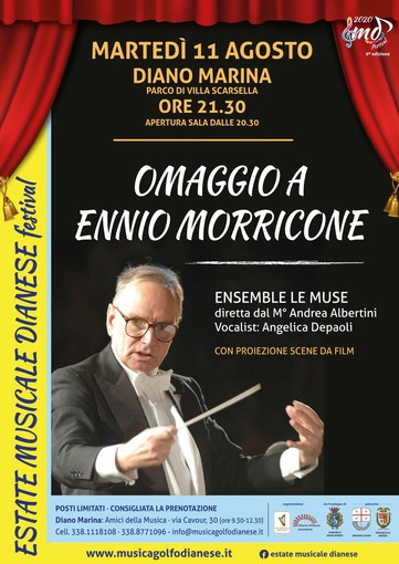L'EMD Festival di Diano Marina rende omaggio ad Ennio Morricone