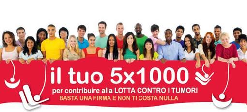 Le modalità per destinare il 5 per mille dell'Irpef alla Lilt Sezione provinciale di Imperia-Sanremo