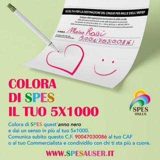 """Colora di Spes il 5x1000: il presidente Lupi """"Un messaggio di fiducia, di speranza e di rinascita"""""""