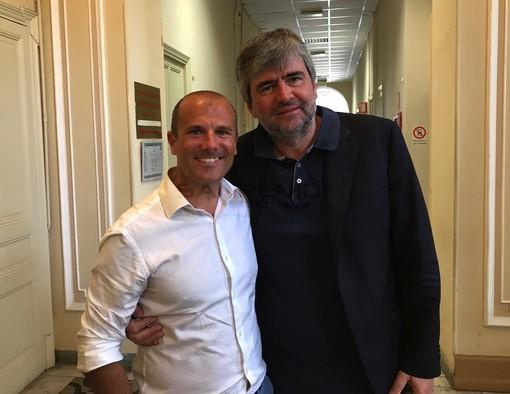 Alessandro Sindoni con Gianmarco Mazzi
