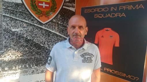 Andrea Caverzan, allenatore dell'Ospedaletti